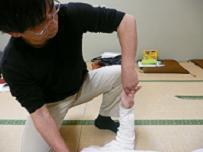 肩関節の調整法 指と肩からの定触法